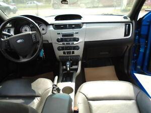 2010 Ford Focus SES LUXURY SPORT PKG-LEATHER-SUNROOF-20,000KM Edmonton Edmonton Area image 11