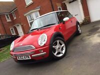 Mini Cooper in Red Only Done 59,796 Miles