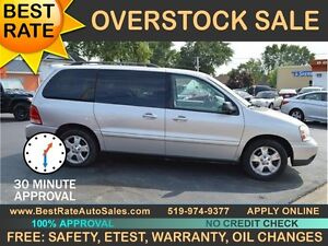 2006 Ford Freestar SES Minivan- MADE IN CANADA