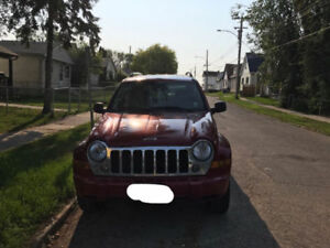 2007 Jeep Liberty Limited Sport Utility *recently safetied*