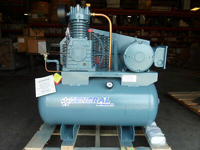 Central Lubricated Tank Mouted Air Compressor Lt2000500a Asme Certified 200psi