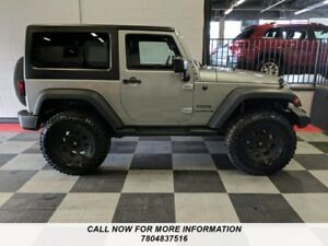 2015 Jeep Wrangler 4X4 Sport, 1 Owner, Accident Free, Lifted w/