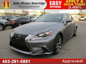 2015 Lexus IS350 F SPORT AWD LEATHER ROOF NAVIGATION B CAM