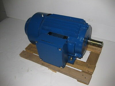 Western 1.5 Hp 3600 Rpm Tefc 230460 Volts 143t 3 Phase Motor New Surplus