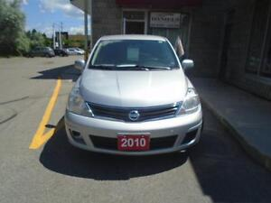 2010 Nissan Versa 1.8 S with a clean CarProof