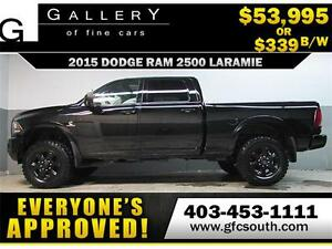 2015 DODGE RAM DIESEL LIFTED *EVERYONE APPROVED* $0 DOWN $339/BW