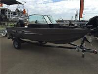 2015 Lowe Boats Fishing Machine FM 165 Pro WT Boat With 60HP