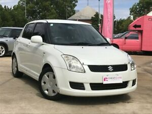 2007 Suzuki Swift RS415 White 5 Speed Manual Hatchback South Toowoomba Toowoomba City Preview