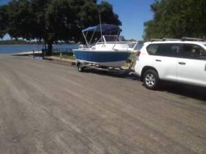 Boat 5m plate Aluminium