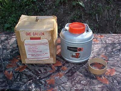 Vintage 1966 Poloron Featherflite Aluminum Picnic Camping Jug