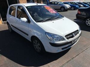 2010 Hyundai Getz TB MY09 SX White 4 Speed Automatic Hatchback Penrith Penrith Area Preview