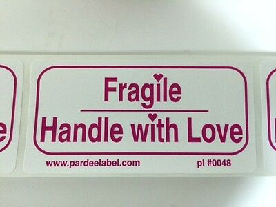 Fragile Handle With Love Labelsstickers 100 2x4 Ebay Shipping Labels Ebay New