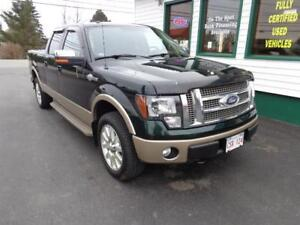 2012 Ford F-150 King Ranch Long Box 5.0L(winter tires on rims)