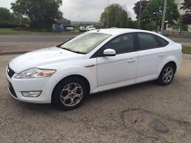 2008 Mondeo Zetec **WHITE**MOT till Oct'17**recently serviced**new brake pads & discs