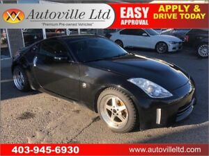 2007 NISSAN 350Z GRAND TOURING 6SPEED MANUAL LEATHER