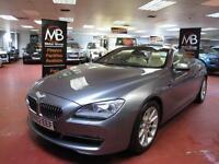 2012 BMW 6 SERIES 640i SE Auto [Start Stop] Sat Nav Rev Cam Bluetooth Audio DRL