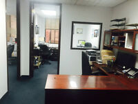 Downtown office sublease