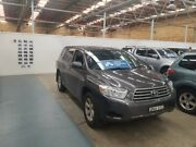 2009 Toyota Kluger GSU40R KX-R 2WD Graphite 5 Speed Sports Automatic Wagon Cardiff Lake Macquarie Area Preview