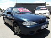 1999 Hyundai Excel X3 GX Blue 4 Speed Automatic Hatchback East Victoria Park Victoria Park Area Preview