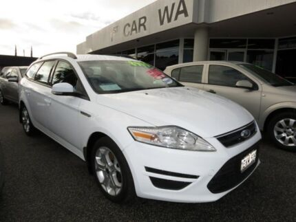 2011 Ford Mondeo White 4 Speed Automatic Wagon