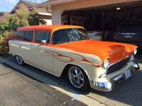 1955 Chevy 2 door wagon