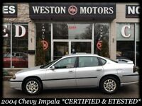 2004 CHEVY IMPALA *FULLY LOADED*CERT&ETESTED*MUST SEE*