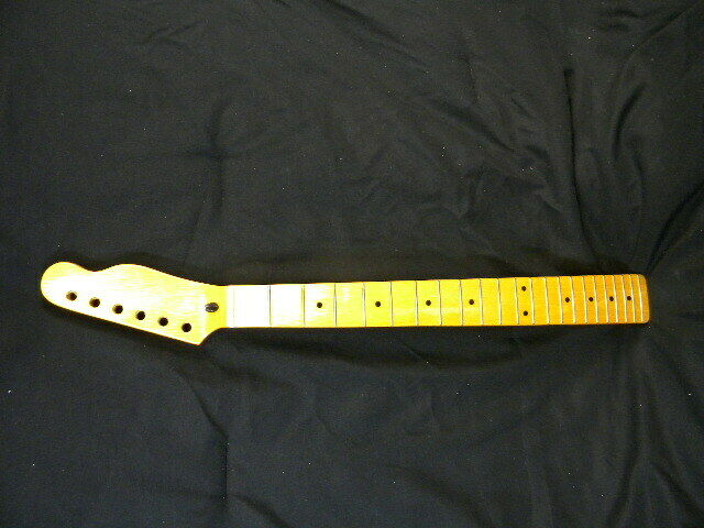 Telecaster neck, maple with maple fretboard