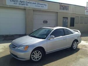 2002 Honda Civic Si-G-ALLOYS-LOADED-SUNROOF