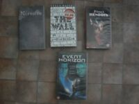 Vintage Videos! Pink Floyd/ Jimi Hendrix/ Fields of the Nephilim/ Event Horizon