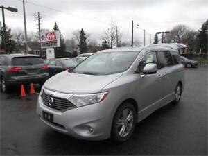 2013 Nissan Quest SL, clean carproof! leather sunroof backup cam