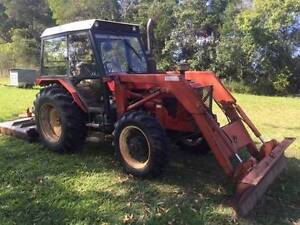 ZETOR 7745 4WD Tracor with FEL and Howard EHD Slasher Package Nambucca Area Preview