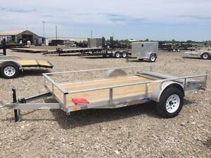 6.5ft x 12ft Open Utility Trailer (ART6.5x12OUL) London Ontario image 1