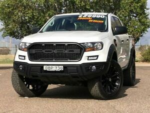 2015 Ford Ranger PX MkII XL Double Cab 4x2 Hi-Rider White 6 Speed Sports Automatic Utility Hillvue Tamworth City Preview