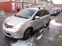 NISSAN NOTE NTEC+ 1,4 TOP OF THE RANGE 36K FSH IN MINT COND