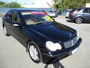 LOW K AUTO 2002 Mercedes-Benz C200 Sedan (1BCM168-A4944) Mandurah Mandurah Area Preview