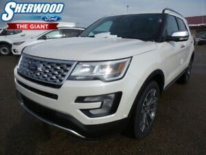 2017 Ford Explorer Platinum w/ 2nd Row Captain Chairs, SYNC 3