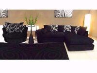 """NEW""""ZINA luxury corner sofa as in pic left or right chaise"""