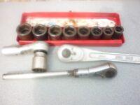 3/4 Drive Gun Sockets & Ratchets