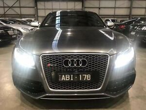 2011 Audi RS5 8T MY11 S tronic quattro Grey 7 Speed Sports Automatic Dual Clutch Coupe Port Melbourne Port Phillip Preview