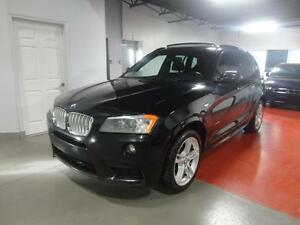 2014 BMW X3 Xdrive35i M-Package (Pano, Leather, Camera)