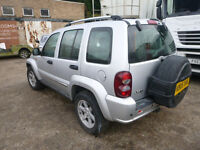 JEEP CHEROKEE LIMITED CRD - KB 05 XAK - DIRECT FROM INS CO