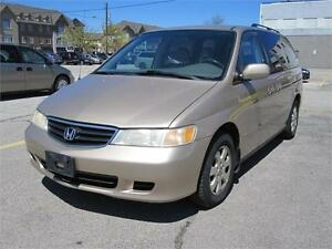 2002 Honda Odyssey EX Clean Carproof Leather 7 passenger Air