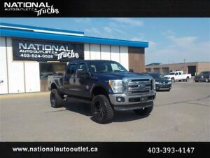 2011 Ford Super Duty F-350 Lariat Lifted