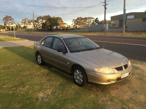 2002 Holden Commodore VX II Gold Automatic Sedan Wangara Wanneroo Area Preview