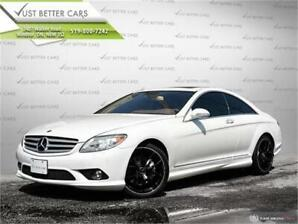2009 Mercedes CL 550 4Matic, LEATHER SEATS, SUNROOF, LOADED!