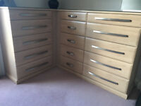 Sharps fitted drawer unit