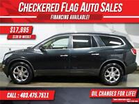 2008 Buick Enclave CXL W/ AWD-NAV-Sunroof-Heated Leather
