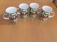 Harrods fine bone china mug set