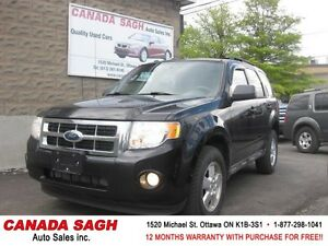 2009 Ford Escape XLT AUTO, V6 BEST DEAL ! 12M.WRTY+SAFETY $5550