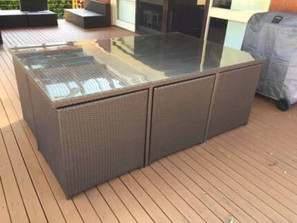 Outdoor Wicker Dining Set West Pennant Hills The Hills District Preview